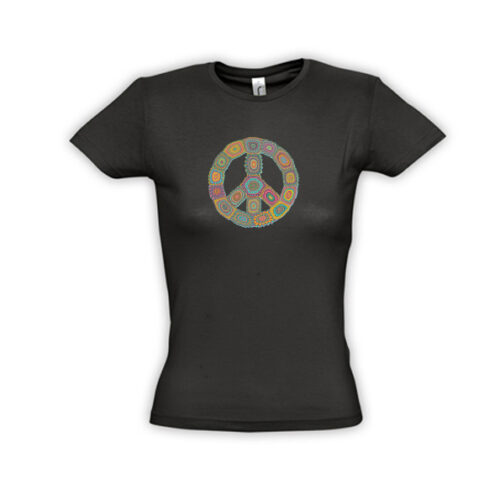 PEACE IS GROOVY MISS-11386_black_A