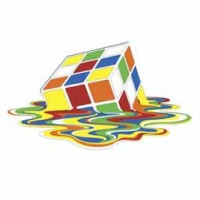 MELTING RUBIKS design 2