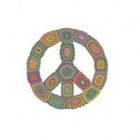 PEACE IS GROOVY design