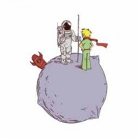 PRINCE WITH ASTRONAUT design