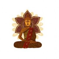 SITTING BUDDHA design