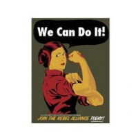 WE CAN DO IT design