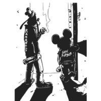 MICKEY & GOOFY ROCKERS