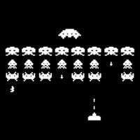 SPACE INVADERS NEG